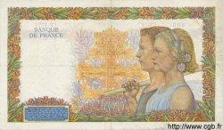 500 Francs LA PAIX FRANCE  1942 F.32.29 TB+
