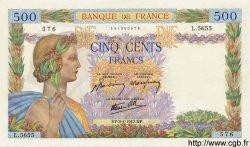 500 Francs LA PAIX FRANCE  1942 F.32.34 NEUF