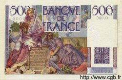 500 Francs CHATEAUBRIAND FRANCE  1945 F.34.00 pr.SUP