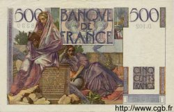500 Francs CHATEAUBRIAND FRANCE  1947 F.34.07 pr.SUP