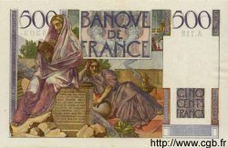 500 Francs CHATEAUBRIAND FRANCE  1952 F.34.09 TTB+