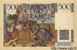 500 Francs CHATEAUBRIAND FRANCE  1953 F.34.11 pr.SPL