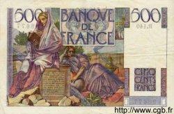 500 Francs CHATEAUBRIAND FRANCE  1953 F.34.12 TTB+ à SUP