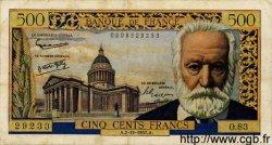 500 Francs VICTOR HUGO FRANCE  1957 F.35.07 pr.TTB