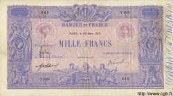 1000 Francs BLEU ET ROSE FRANCE  1913 F.36.27 TTB