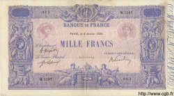 1000 Francs BLEU ET ROSE FRANCE  1920 F.36.35 pr.TTB