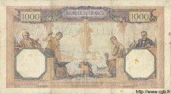 1000 Francs CÉRÈS ET MERCURE FRANCE  1928 F.37.02 TB+
