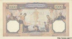1000 Francs CÉRÈS ET MERCURE FRANCE  1930 F.37.05 SUP