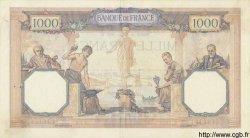 1000 Francs CÉRÈS ET MERCURE FRANCE  1931 F.37.06 TTB+ à SUP