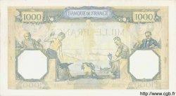 1000 Francs CÉRÈS ET MERCURE type modifié FRANCE  1937 F.38.03 TB+