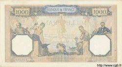 1000 Francs CÉRÈS ET MERCURE type modifié FRANCE  1938 F.38.14 SUP+