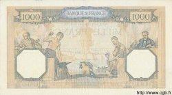 1000 Francs CÉRÈS ET MERCURE type modifié FRANCE  1938 F.38.27 pr.SUP