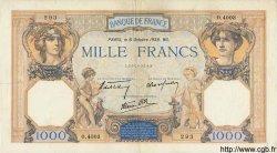 1000 Francs CÉRÈS ET MERCURE type modifié FRANCE  1938 F.38.28 TTB+