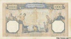 1000 Francs CÉRÈS ET MERCURE type modifié FRANCE  1938 F.38.29 pr.SUP