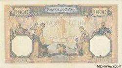 1000 Francs CÉRÈS ET MERCURE type modifié FRANCE  1939 F.38.35 SUP+ à SPL