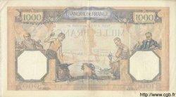 1000 Francs CÉRÈS ET MERCURE type modifié FRANCE  1939 F.38.36 TTB+