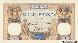 1000 Francs CÉRÈS ET MERCURE type modifié FRANCE  1940 F.38.43 SPL+