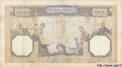 1000 Francs CÉRÈS ET MERCURE type modifié FRANCE  1940 F.38.44 pr.TTB