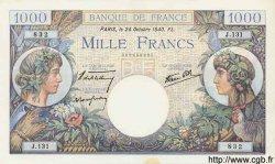 1000 Francs COMMERCE ET INDUSTRIE FRANCE  1940 F.39.01 SPL+