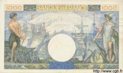 1000 Francs COMMERCE ET INDUSTRIE FRANCE  1941 F.39.04 SUP