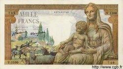 1000 Francs DÉESSE DÉMÉTER FRANCE  1942 F.40.05 SUP