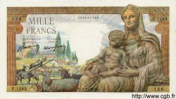 1000 Francs DÉESSE DÉMÉTER FRANCE  1942 F.40.06 pr.NEUF