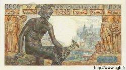 1000 Francs DÉESSE DÉMÉTER FRANCE  1942 F.40.07 SPL