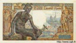 1000 Francs DÉESSE DÉMÉTER FRANCE  1943 F.40.17 pr.SPL