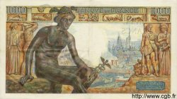 1000 Francs DÉESSE DÉMÉTER FRANCE  1943 F.40.22 SUP