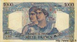 1000 Francs MINERVE ET HERCULE FRANCE  1945 F.41.00s1 SUP