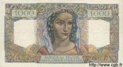 1000 Francs MINERVE ET HERCULE FRANCE  1945 F.41.02 pr.SUP
