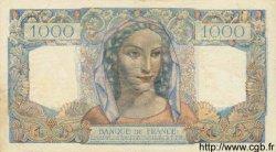 1000 Francs MINERVE ET HERCULE FRANCE  1945 F.41.03 SUP+
