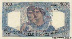 1000 Francs MINERVE ET HERCULE FRANCE  1945 F.41.06 SPL
