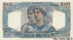 1000 Francs MINERVE ET HERCULE FRANCE  1945 F.41.07 SPL+