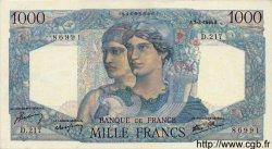 1000 Francs MINERVE ET HERCULE FRANCE  1946 F.41.12 pr.NEUF