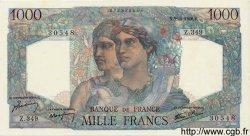 1000 Francs MINERVE ET HERCULE FRANCE  1946 F.41.17 SPL
