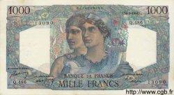 1000 Francs MINERVE ET HERCULE FRANCE  1948 F.41.23 SUP