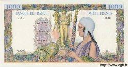 1000 Francs aux Trophées, non émis FRANCE  1948  NEUF