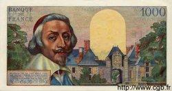 1000 Francs RICHELIEU FRANCE  1954 F.42.05 SUP+ à SPL