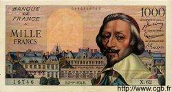 1000 Francs RICHELIEU FRANCE  1954 F.42.07 SUP