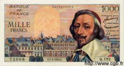 1000 Francs RICHELIEU FRANCE  1955 F.42.15 SPL