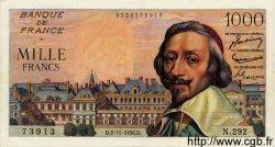 1000 Francs RICHELIEU FRANCE  1956 F.42.23 SUP
