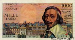 1000 Francs RICHELIEU FRANCE  1957 F.42.25 SUP+