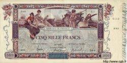 5000 Francs FLAMENG FRANCE  1918 F.43.00s1 SUP+