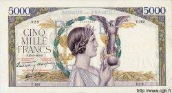 5000 Francs VICTOIRE Impression à plat FRANCE  1939 F.46.06 pr.SUP