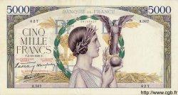 5000 Francs VICTOIRE Impression à plat FRANCE  1939 F.46.13 TTB+