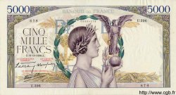 5000 Francs VICTOIRE Impression à plat FRANCE  1939 F.46.14 TTB+