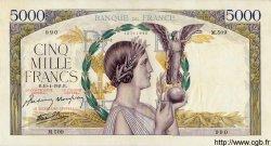 5000 Francs VICTOIRE Impression à plat FRANCE  1941 F.46.19 TTB+
