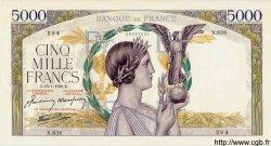 5000 Francs VICTOIRE Impression à plat FRANCE  1942 F.46.33 SUP+