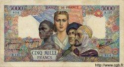 5000 Francs EMPIRE FRANCAIS FRANCE  1944 F.47.07 TB